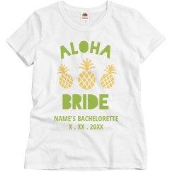 Customizable Aloha Bride Design