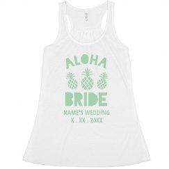 Beachy Aloha Bride