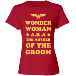 Wonder Woman Mother Of The Groom