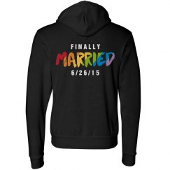 Gay Marriage Hoodie