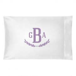 Custom Purple Monogram