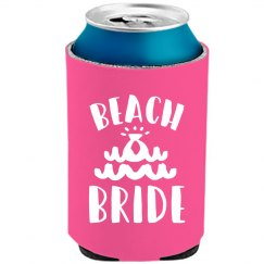 Neon Koozie Beach Bride Party