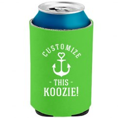 Custom Text Bachelorette Koozies