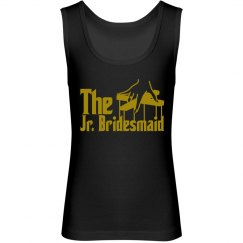 The Jr. Bridesmaid Youth Jersey Tank Top