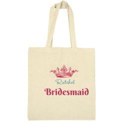 Crown Bridesmaid Tote Bag