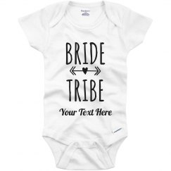 Bride Tribe Wedding Baby