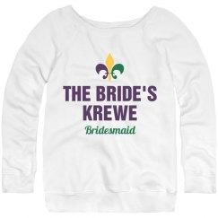 Bride's Mardi Gras Krewe