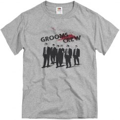 Grooms Crew Tee Shirt Bachelor Party