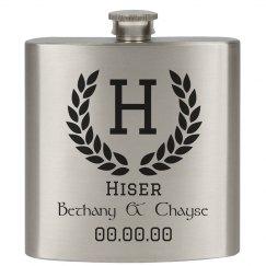 Bethany & Chayse Flask