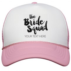 Scrip Bride Squad Snap Back