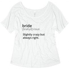 Bride Definition