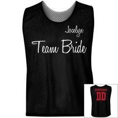 Team Bride Pinnie w/ Back
