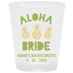 Cute Pineapples Aloha Bride