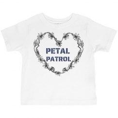 Petal Patrol toddler tee