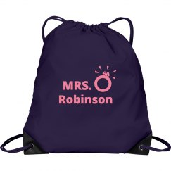 Newly Wed Drawstring Bag