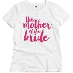 Mom Of The Bride Script