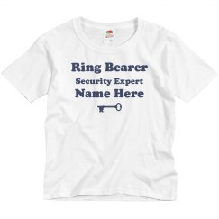 Custom Security Expert Ring Bearer Tee