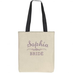 Purple Bride Scroll Logo