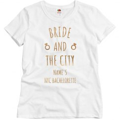 Custom Metallic Bride And The City