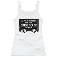 Vegas Bachelorette Mugshot Bride