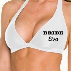Bride Bikini Top