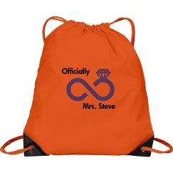 Newly Wed Drawstring Bag
