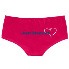 Just Married Hot Shorts