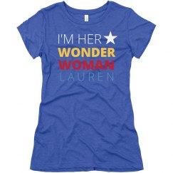 Hers & Hers Wonder Woman