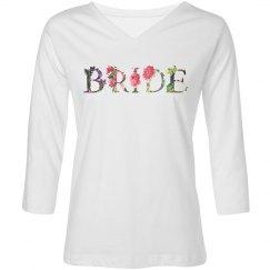 Floral Bride Tshirt