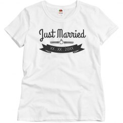 Simple Just Married Banner