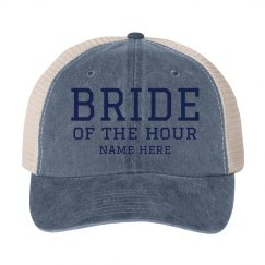 Custom Bride Of The Hour Hat