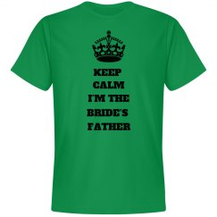 Keep Calm Father of Bride
