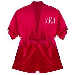Personalized Monogram Robe