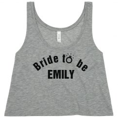 Perfect Tank top for bride to be