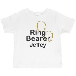 Ring Bearer with Rings