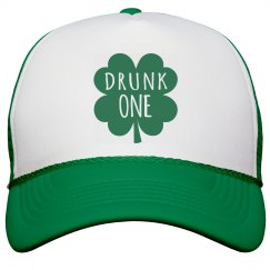 Drunk One Bachelorette Cap