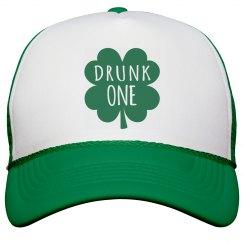 Drunk One Bachelorette Cap