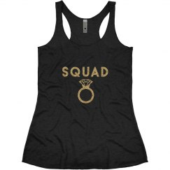Bachelorette Party Tanks, Squad with ring
