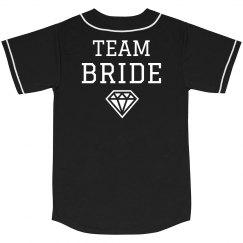 Team Bride Baseball Jersey