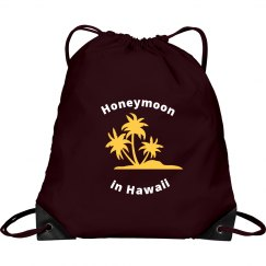 Honeymoon Drawstring Bag