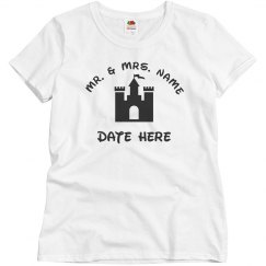 Just Married Castle Honeymoon