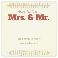 Custom Marriage Advice