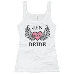Bride Winged Heart