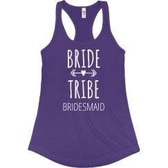 Bride Tribe Bridesmaid Arrows