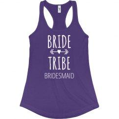 Bride Tribe Bridesmaid Arrows