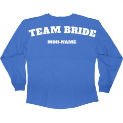 Team Bride MOH Jersey