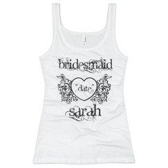 Sarah Heart Bridesmaid