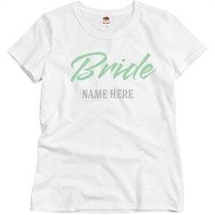 Simple Customizable Bride Design