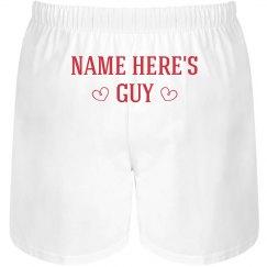 Custom Mens Valentine's Gift