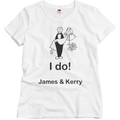I Do Wedding Tee